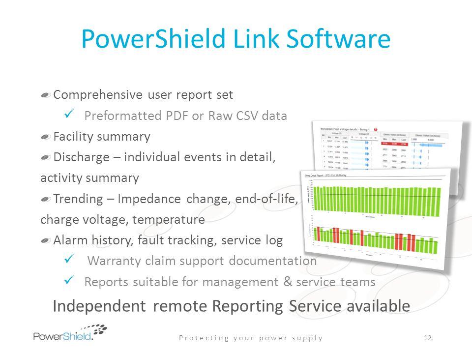 PowerShield Link Software