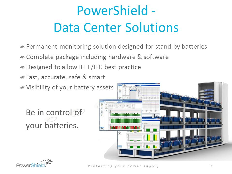 PowerShield - Data Center Solutions