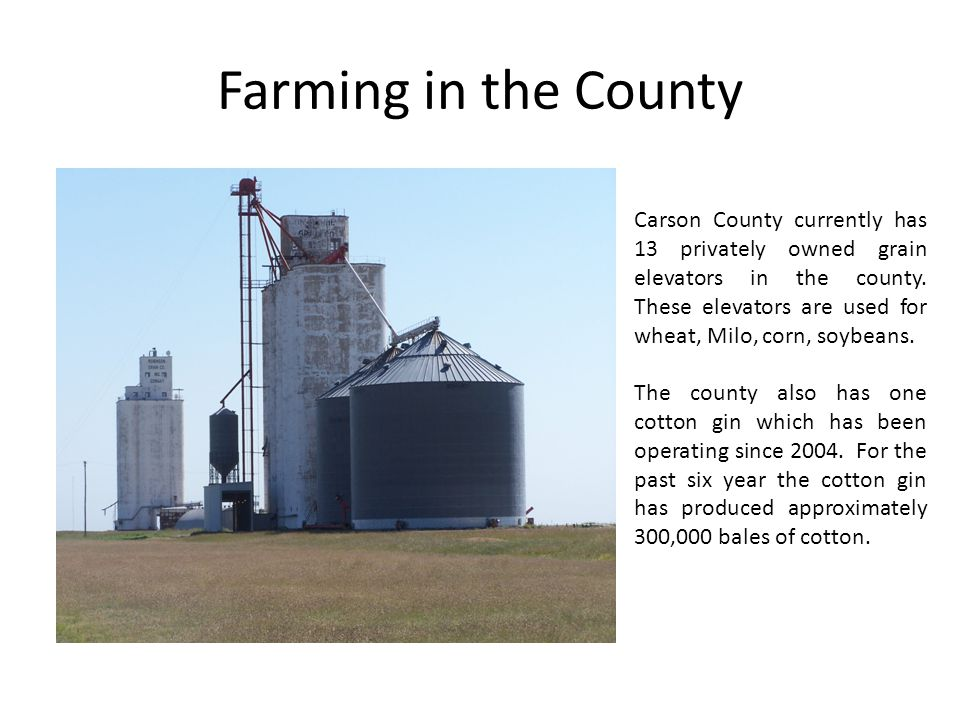 Farming in the County