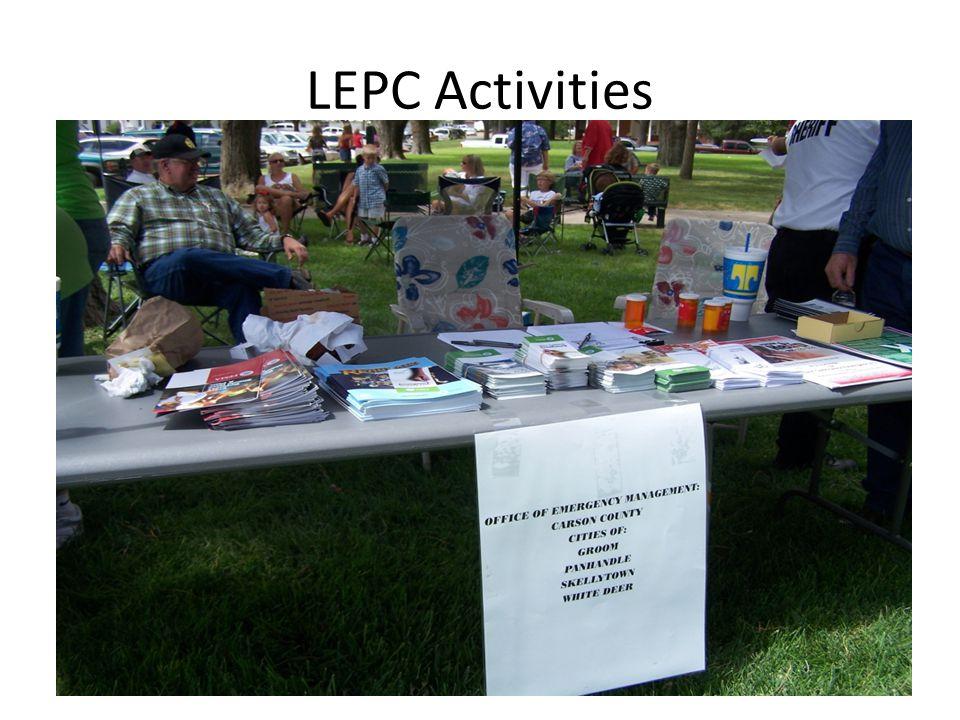 LEPC Activities