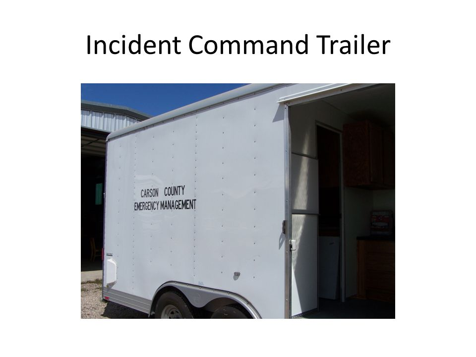 Incident Command Trailer