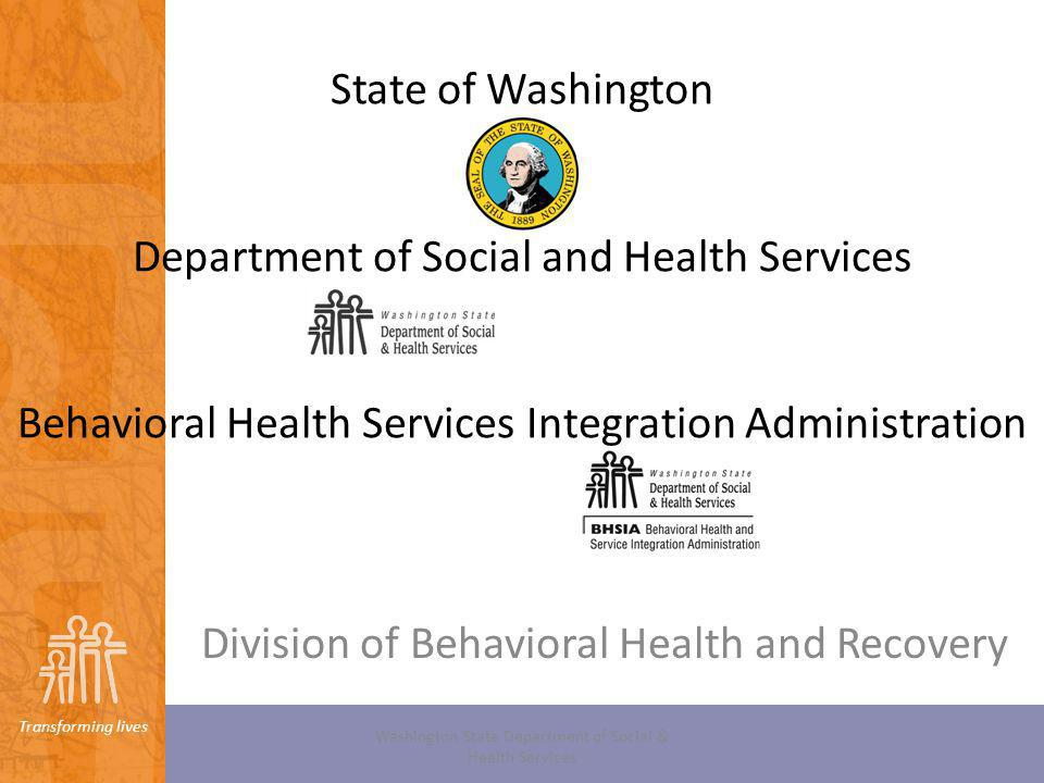 Division of Behavioral Health and Recovery
