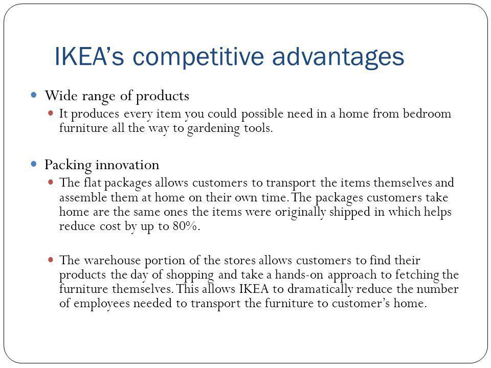 IKEA's competitive advantages