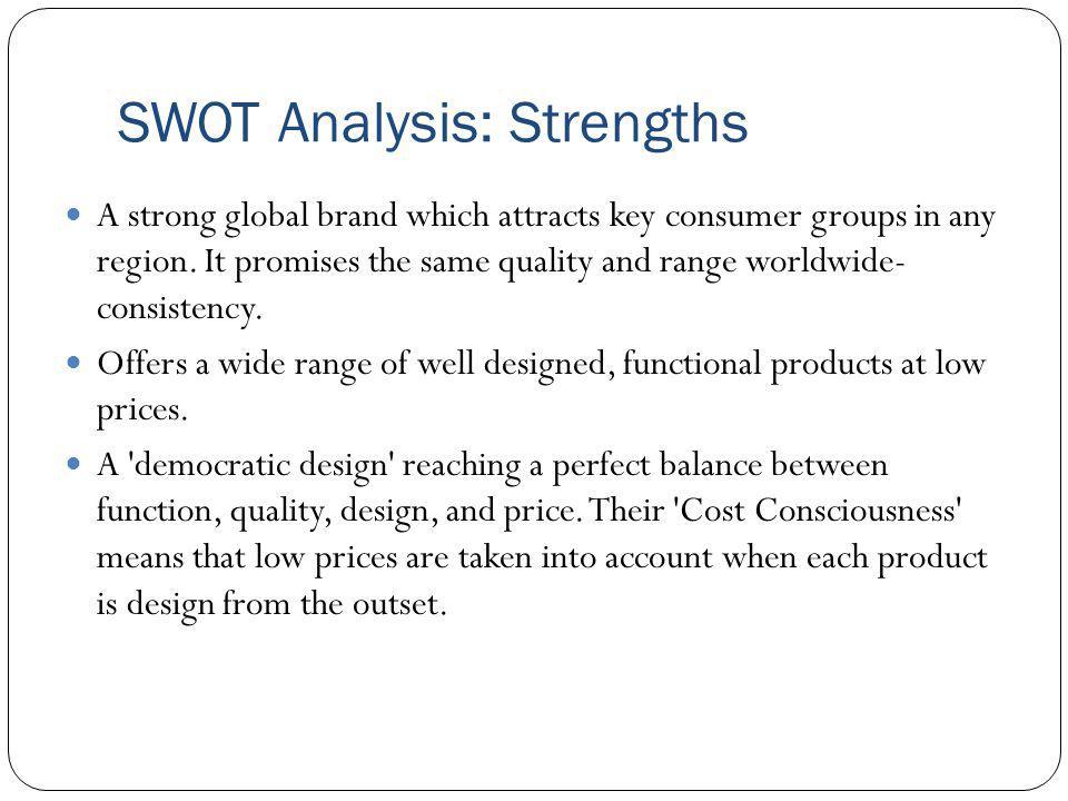SWOT Analysis: Strengths
