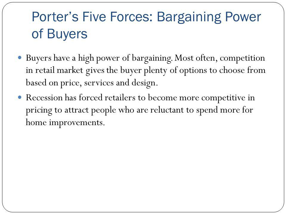 porters fourht force is bargaining power Porter's fourth force is bargaining power of buyers buyers are known to have high bargaining power over firms when they are very sensitive towards prices and this is the case here with fly emirates and other airlines in general.