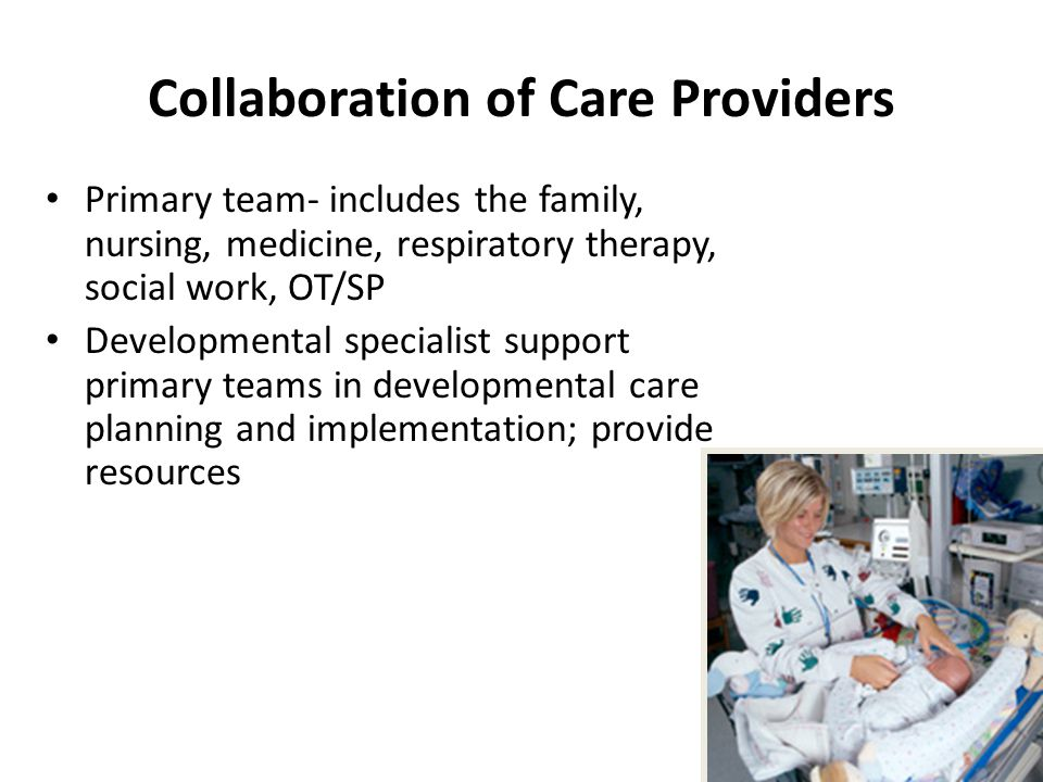 Collaboration of Care Providers