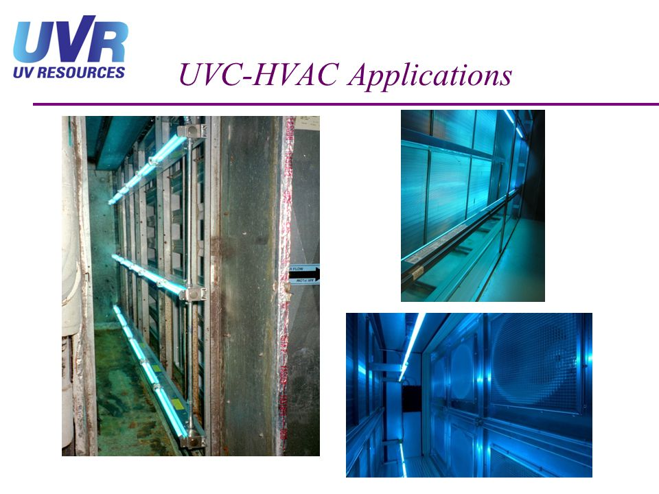 UVC-HVAC Applications