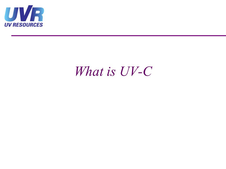 What is UV-C