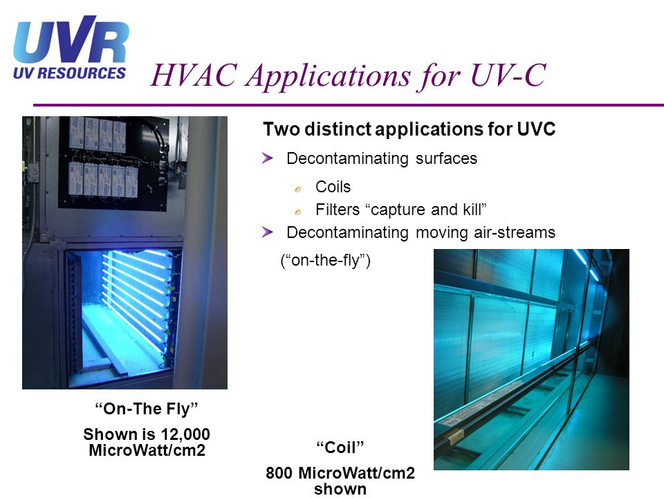 HVAC Applications for UV-C