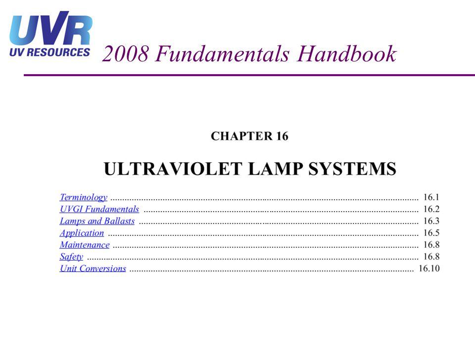 2008 Fundamentals Handbook