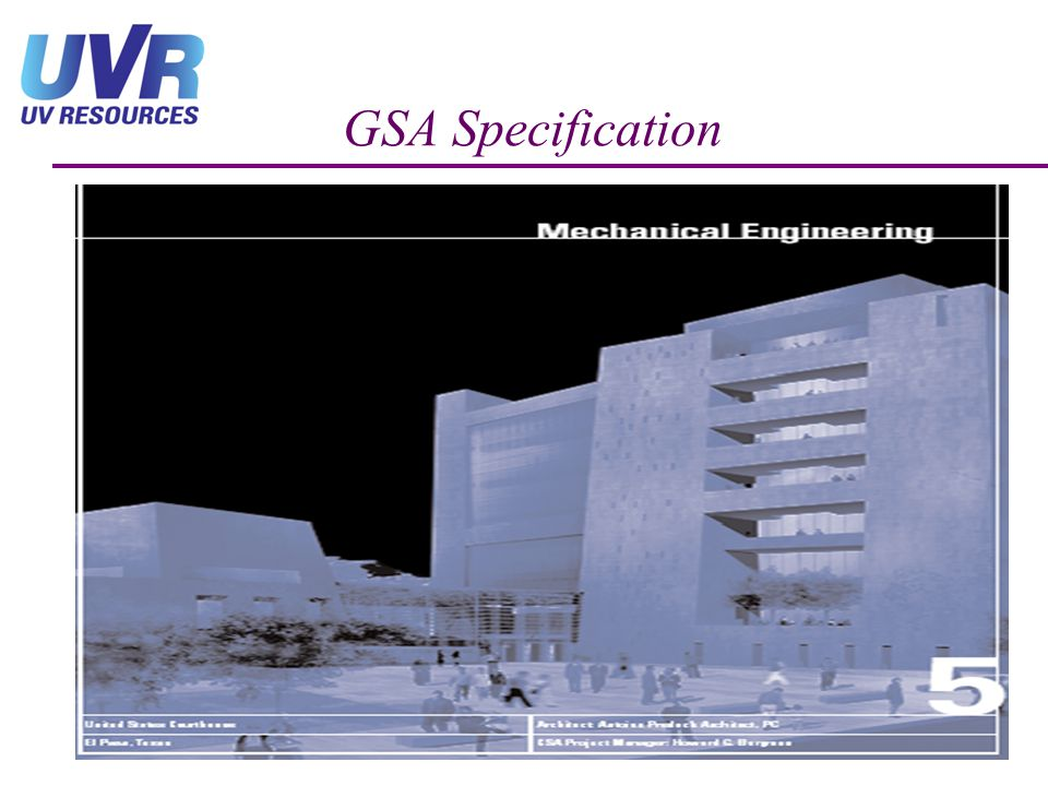 GSA Specification