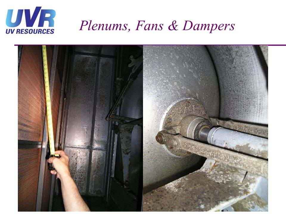 Plenums, Fans & Dampers