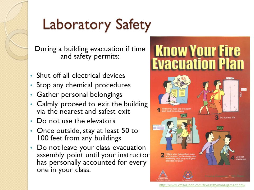 During a building evacuation if time and safety permits: