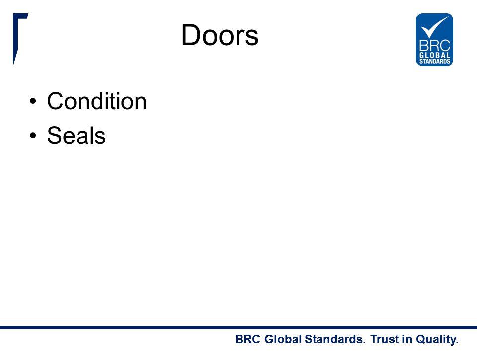 Doors Condition Seals