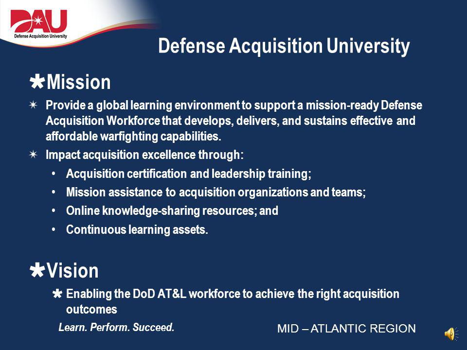 Defense Acquisition University