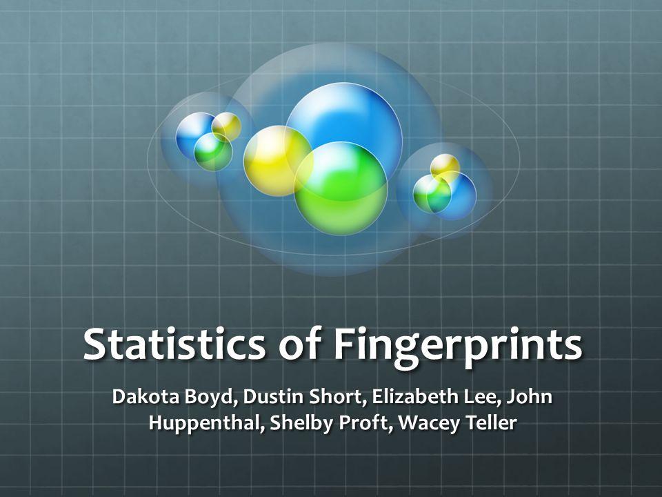 Statistics of Fingerprints