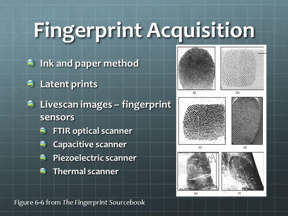 Fingerprint Acquisition