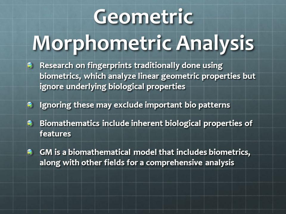 Geometric Morphometric Analysis