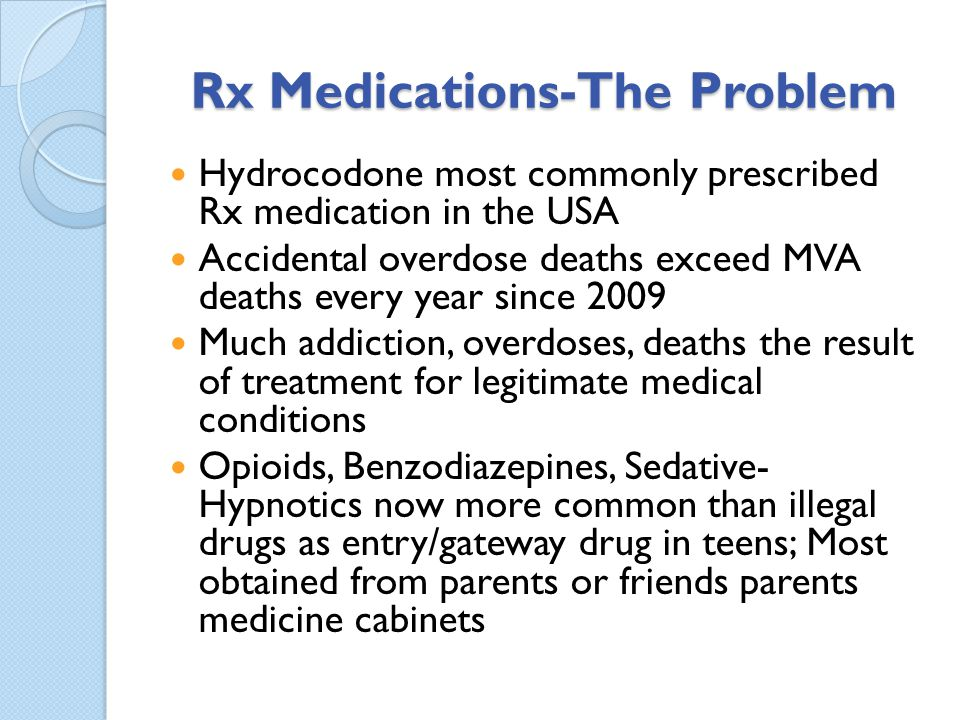 Rx Medications-The Problem
