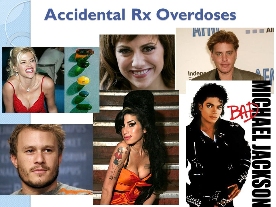Accidental Rx Overdoses