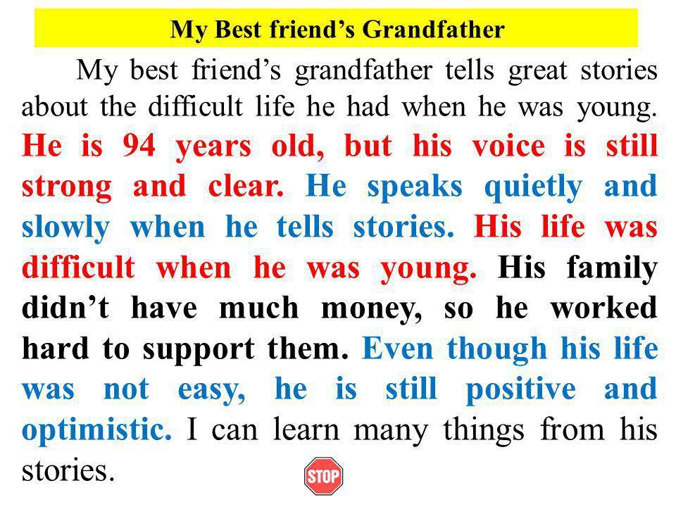 My Best friend's Grandfather