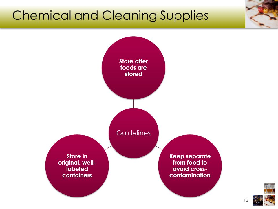 Chemical and Cleaning Supplies