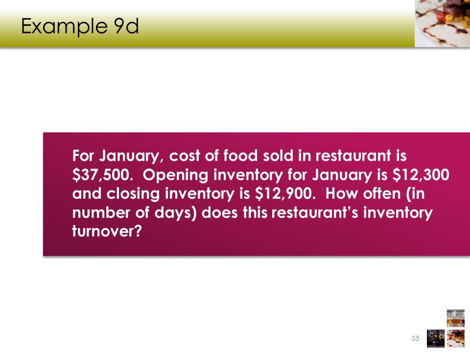 Example 9d