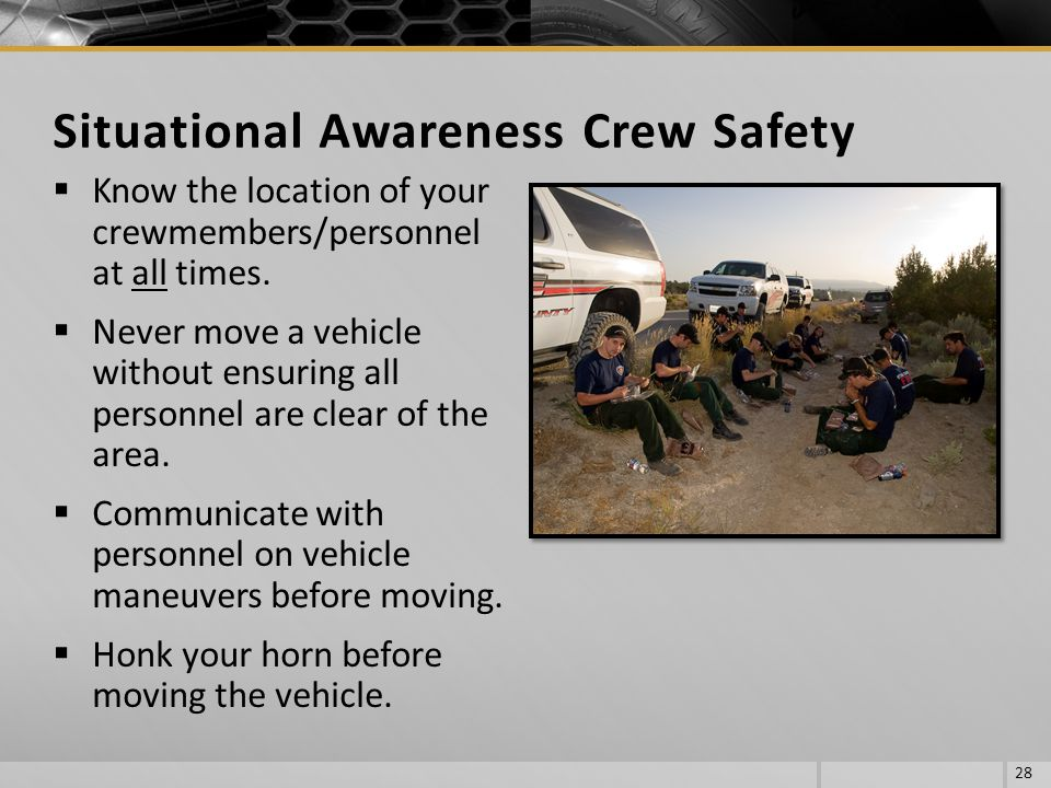 Situational Awareness Crew Safety
