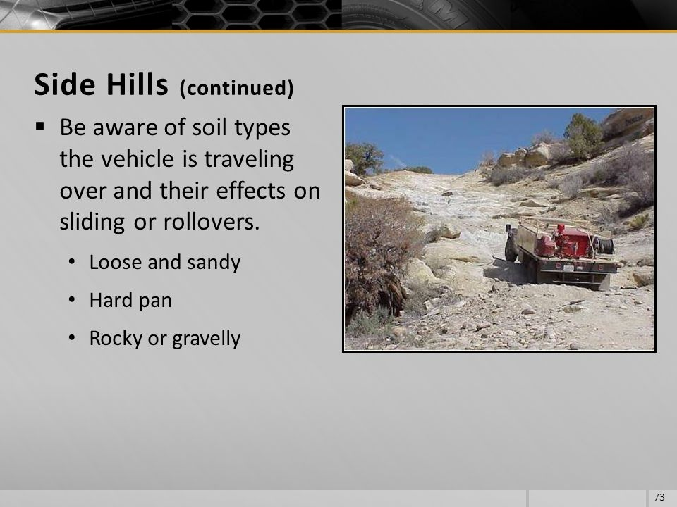 Side Hills (continued)