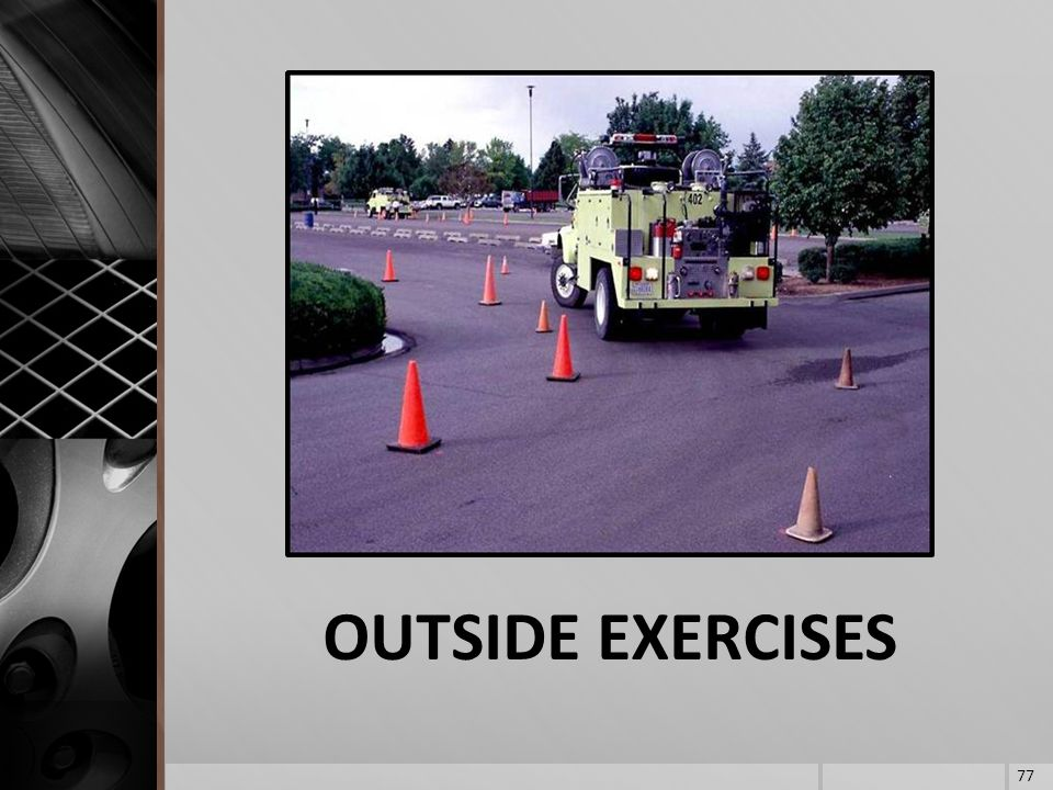 OUTSIDE EXERCISES