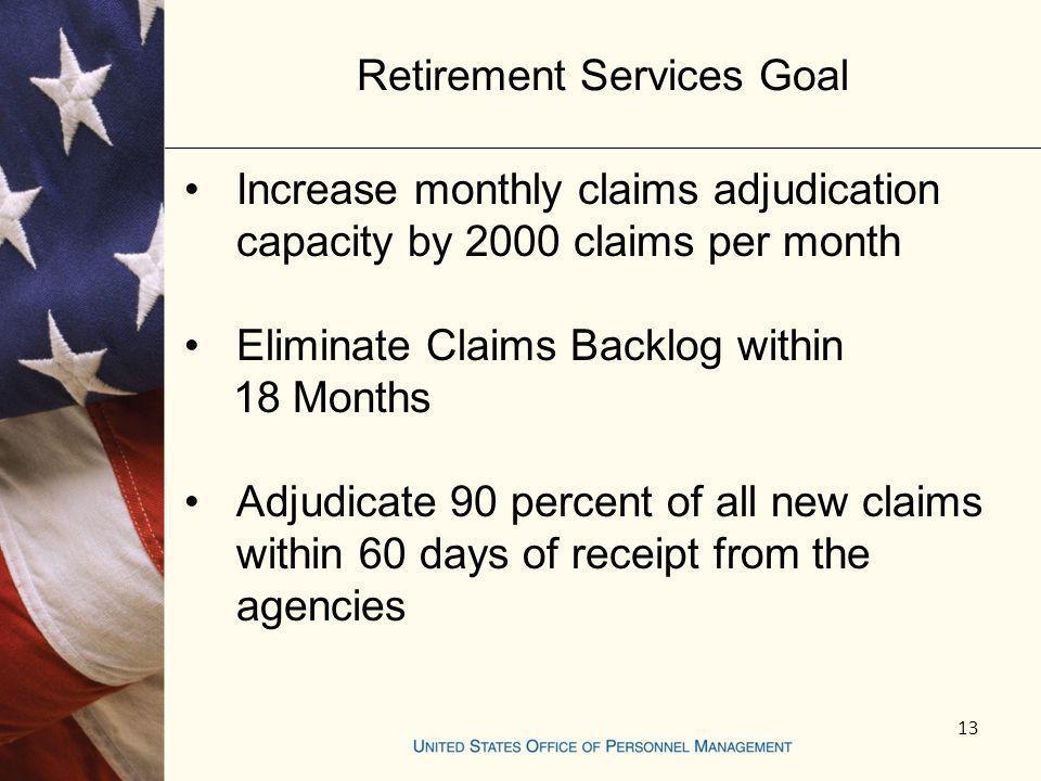 Retirement Services Goal