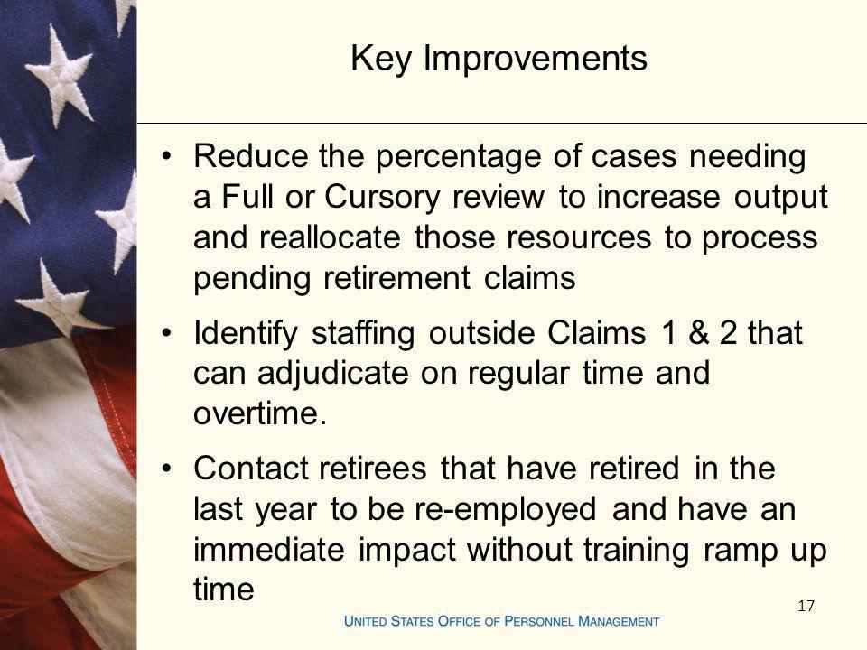 Key Improvements