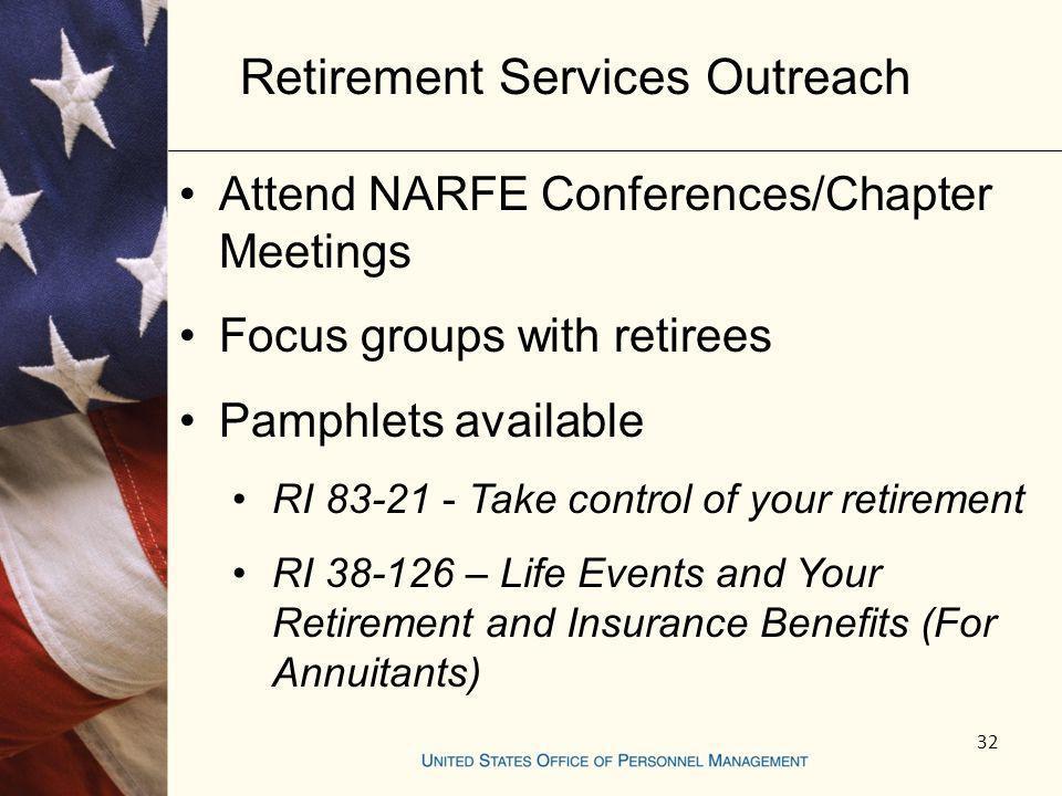 Retirement Services Outreach