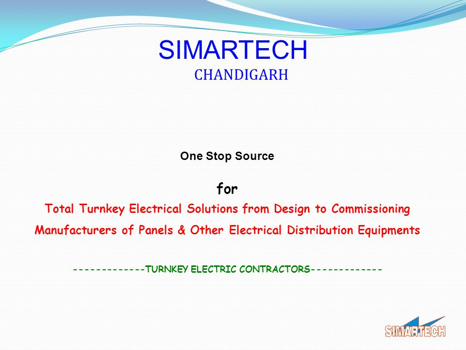 SIMARTECH CHANDIGARH for One Stop Source