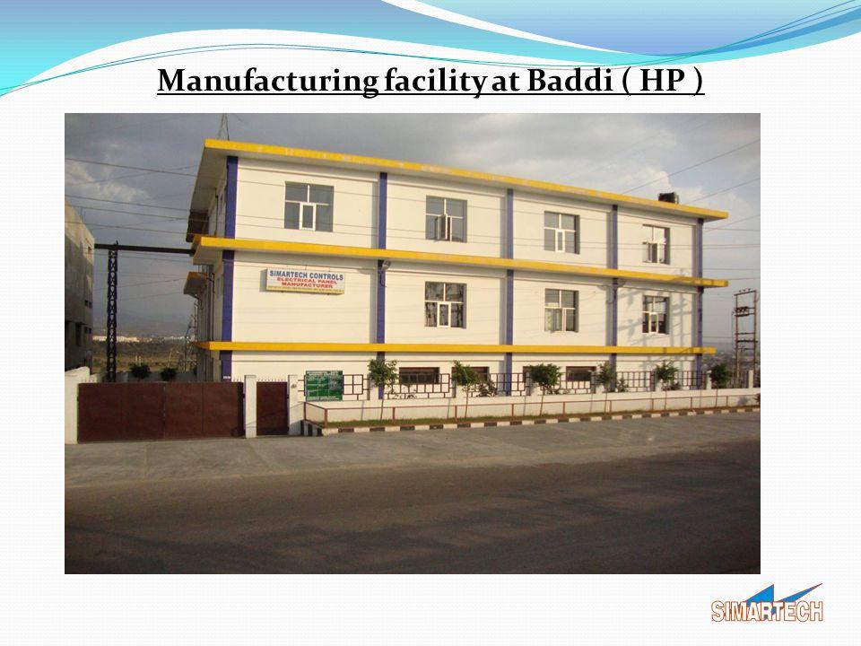 Manufacturing facility at Baddi ( HP )