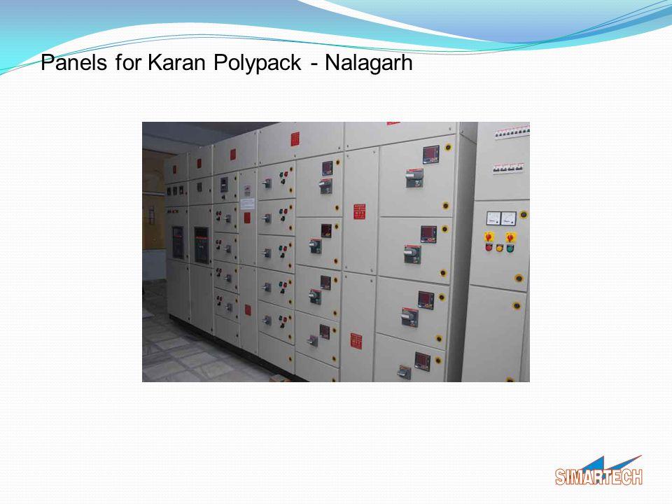 Panels for Karan Polypack - Nalagarh