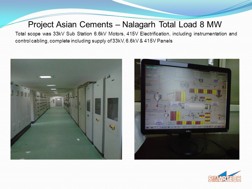 Project Asian Cements – Nalagarh Total Load 8 MW