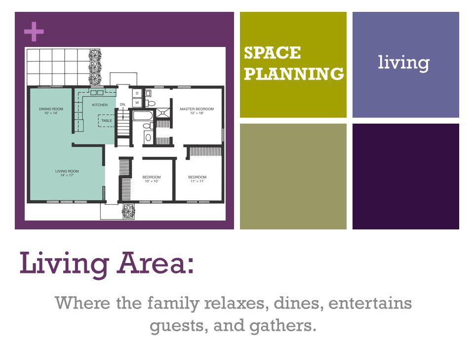 Where the family relaxes, dines, entertains guests, and gathers.