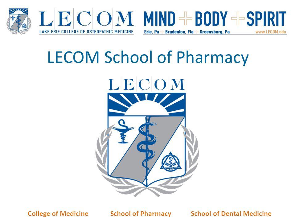 LECOM School of Pharmacy