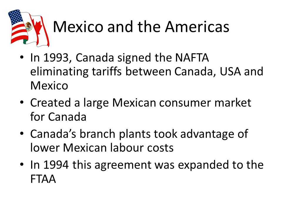 Mexico and the Americas