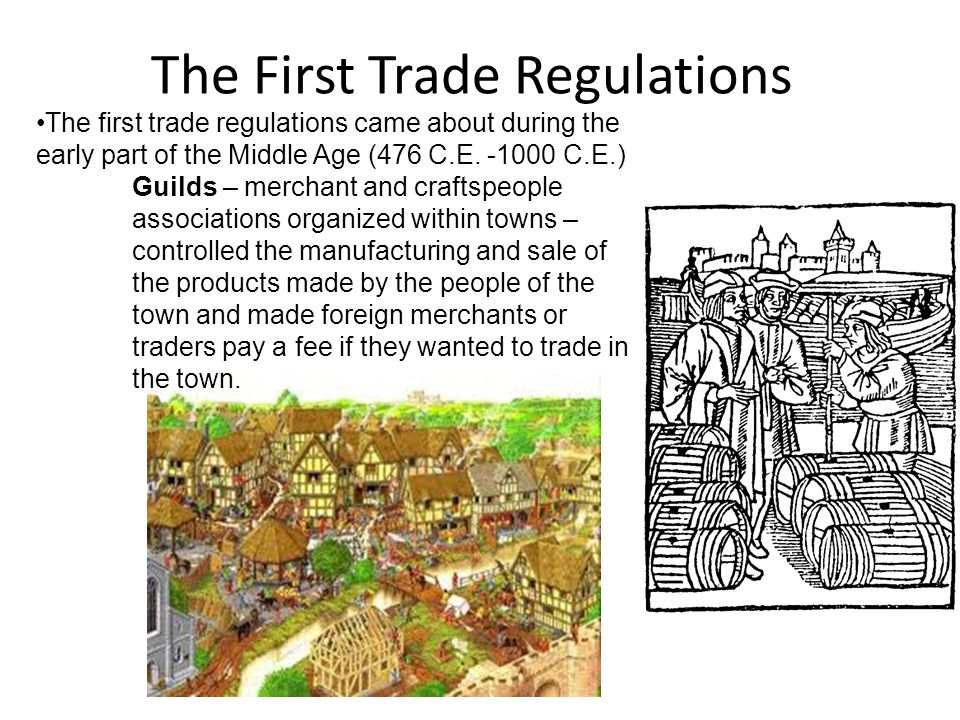 The First Trade Regulations