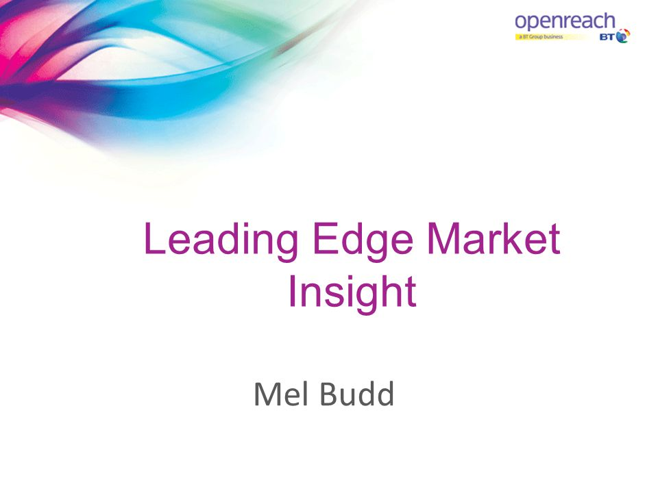 Leading Edge Market Insight