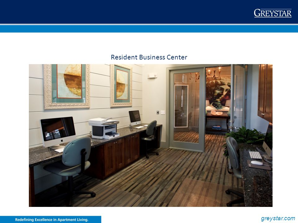 Resident Business Center