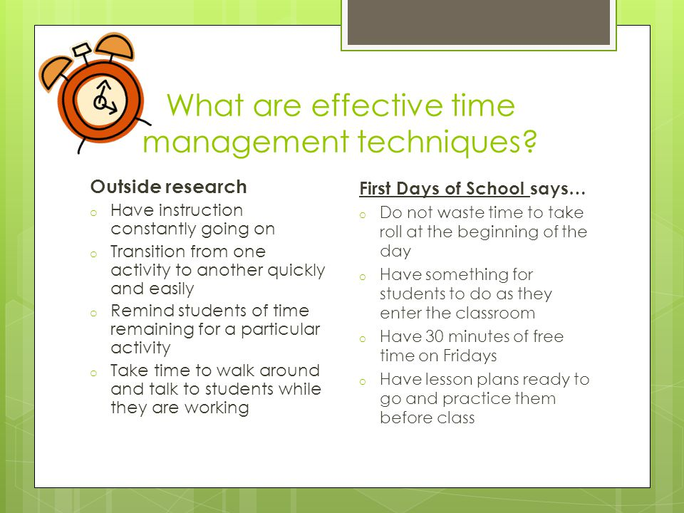What are effective time management techniques