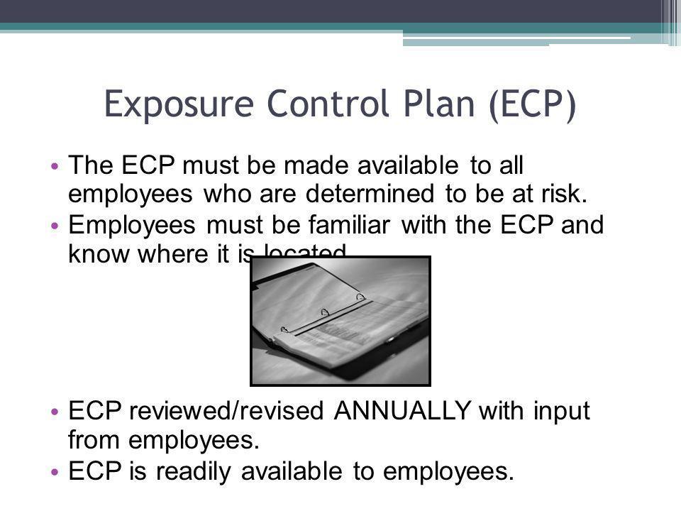 Exposure Control Plan (ECP)