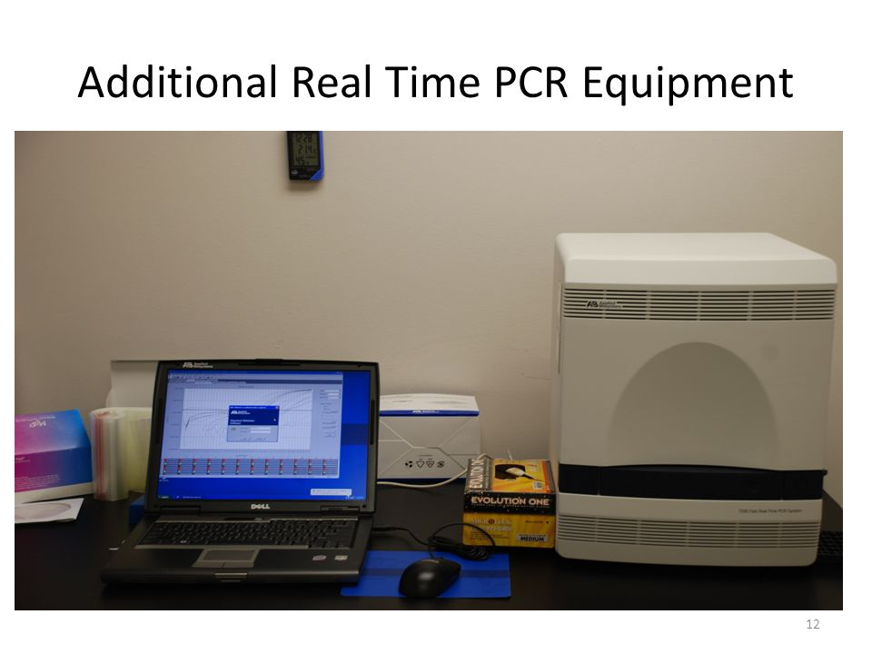 Additional Real Time PCR Equipment