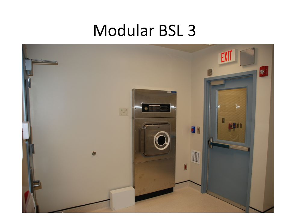 Modular BSL 3