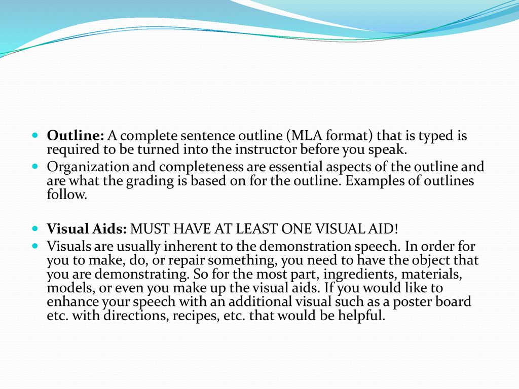 Demonstration Sch & Introduction Sch. - ppt download on mla formatted outline complete sentence, example of a proper outline, full sentence outline, sentence structure outline, mla formal outline with thesis, mla sentence outline example,