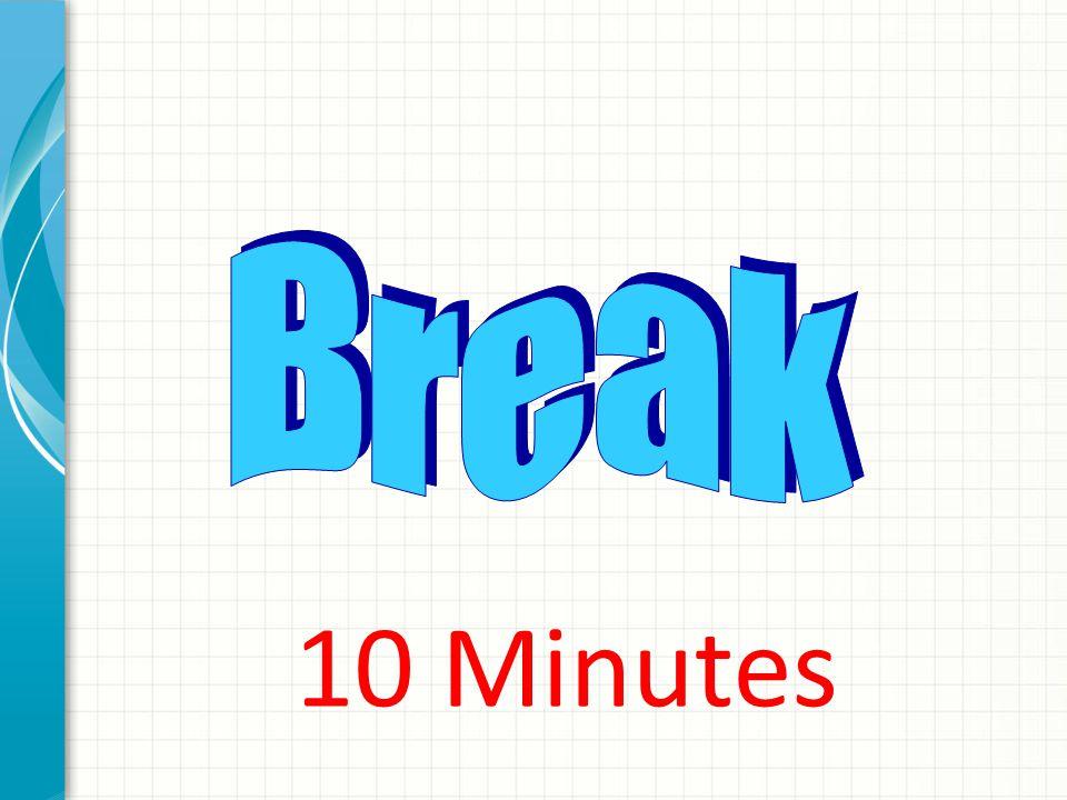 B r e a k 10 Minutes