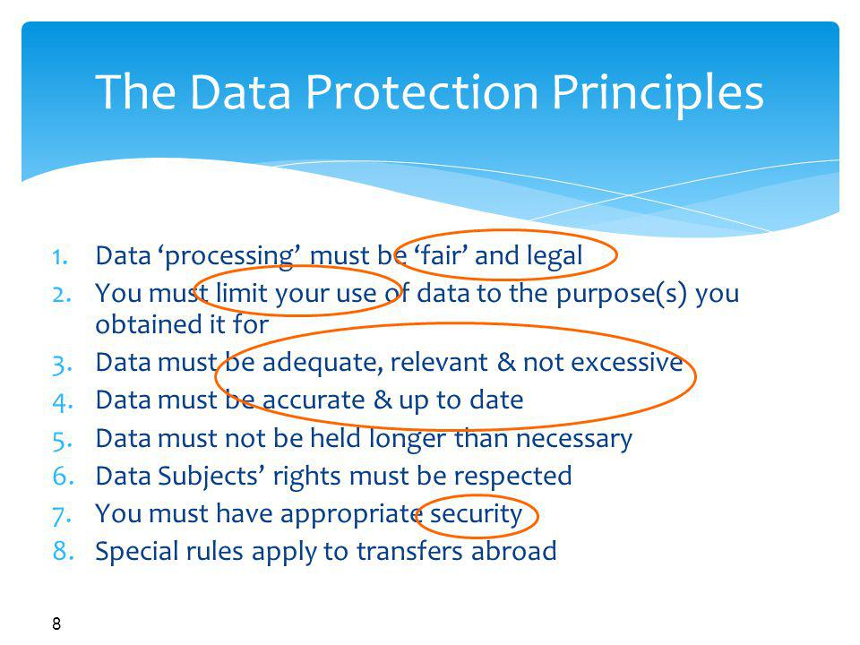 Data Protection Webinar Data Protection Amp Human Resources